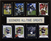 C & I Collectables 1215ATGSOON NCAA Football Oklahoma Sooners All-Time Greats Plaque