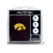 Team Golf 21520 Iowa Hawkeyes Embroidered Towel Gift Set