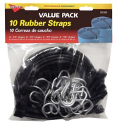 Hampton Products Keeper 06360 10 Pack Multi-Pack Rubber Straps