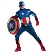 Disguise Captain America Avengers Theatrical Men Halloween Costume