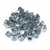 StarTech.com M5 Cage Nuts for Server Rack Cabinets, 50-Pack