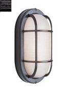 Trans Global Lighting 41005 RT The Standard 1 Light Outdoor Medium Bulkhead - Rust