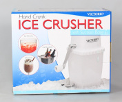 Victorio VKP1126 Hand Crank Portable Ice Crusher - White