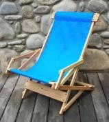 Blue Ridge Chair Works SRCH03WA Sling Recliner - Atlantic Blue