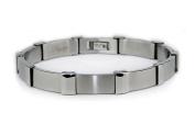 EWC B32081 Stainless Steel Mens Link Bracelet