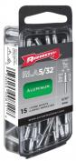 Arrow Fastener Co. RLA.16 15 Count .40.6cm . Long Alumium Rivets