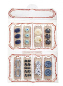 Jolee's Boutique Dimensional Stickers, Blue Notion Kit