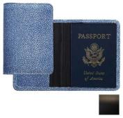 Raika SF 115 BLK Passport Cover - Black