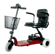 Shoprider SL73-BGRD-Echo 3 Wheel Scooter in Red