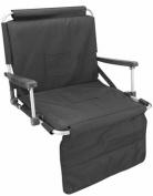 Picnic Plus PSM-106BL Stadium Seat - Black