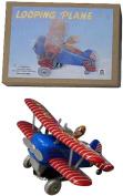 Alexander Taron MS643 Collectible Tin Toy - Acrobatic Plane