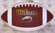Creative Sports Enterprises WILSON-F1196 Wilson NCAA 3 White Panel Autograph Model College Football - F1196