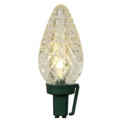 Vickerman 25 ct. Warm White C9 Led Lights with Green Wire 20cm . Spacing