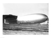 PVT/Superstock SAL9903139 USA New Jersey Hindenberg Airship on a landscape -24 x 18- Poster Print