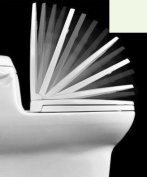 Centoco 1400SC-416 Biscuit Luxury Safety Close Toilet Seat