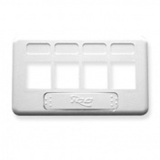 ICC ICC-IC107FT4WH Faceplate Furniture Tia 4-Port White