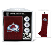 Team Golf 13620 Colorado Avalanche Embroidered Towel Gift Set