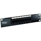 TRENDnet TC-P08C6 8-Port Cat 6 UTP Patch Panel