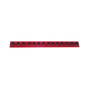 Vim Products VIMMR8R14A 20.3cm . Red Magrail TL Magnetic Socket and Tool Organiser