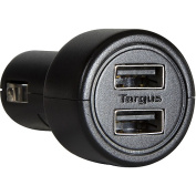 Targus Dual Car Charger for Apple iPad, iPad 2, The New iPad, iPhone, iPod, and other USB Charging Devices