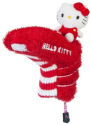 Williams Sports Holdings HC-HKG.MM.BP.R-W Hello Kitty Golf Mix & Match Putter Headcover Red- White