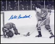 AJ Sports World BOUB105020 BUTCH BOUCHARD Montreal Canadiens SIGNED 8x10 Action Photo