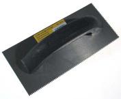 Qep Tile Tools 10.2cm . X 22.9cm . Black Economy Notched Trowel 10125