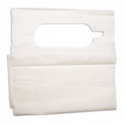 Dynarex 4406 Disposable Adult Lap Bibs 16 x 33 Overhead - 300/Case