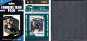 C & I Collectables 2010EAGLESTSC NFL Philadelphia Eagles Licenced 2010 Score Team Set and Favourite Player Trading Card Pack Plus Storage Album