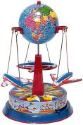 Alexander Taron RM550 Tin Globe Planes Carousel Statue