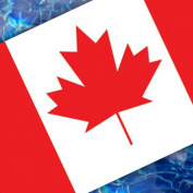 Canadian Flag Pool Emblem 150cm 67B00-00073_Canadian