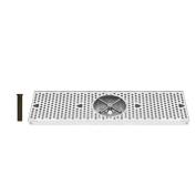 UBC DTU24SSR 61cm . x 20.3cm . x 3-10.2cm . Drip Tray with Rinser