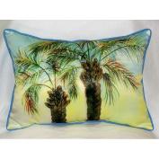 Betsy Drake HJ385 Betsys Palms Art Only Pillow 15x22