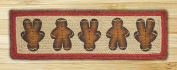 Capitol Importing 49-ST111GBM Gingerbread Men - 27 in. x 8.25 in. Rectangle Stair Tread