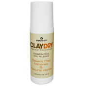 Zion Health 0349142 Clay Dry Natural Deodorant - 3 oz