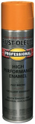 Rustoleum 7555-838 440ml Safety Orange Professional High Performance Enamel Spra - Pack of 6