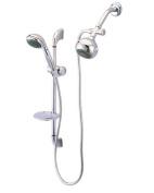 Kingston Brass KSK2521SG1 Designer Trimscape Showerscape Shower Combo, Polished Chrome