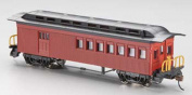 Bachmann BAC13502 HO 1860-1880 Combine Unlettered - Red
