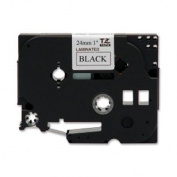 for Brother International TZE-251 Black On White 1 Inch Tape