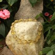 Betty Rocks BNKLQZ203251816T4 16 in. 25 x 18mm Nugget Lemon Quartz Necklace