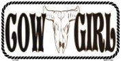 LP-1294 Cowgirl Cow Girl Licence Plate- X415