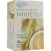 Prince Of Peace 0745034 Natural Premium Peony White Tea - 20 Tea Bags