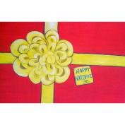 Custom Printed Rugs Happy Holidays Door Mat