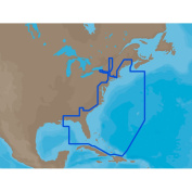 C-MAP MAX NA-M022 - U.S. East Coast & The Bahamas - SD-Card
