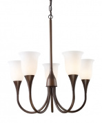 Elk Lights 10028/5 Cabaret 5-Light Chandelier In Aged Bronze