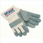 Memphis Glove 127-16010L 2-1-5.1cm Safety Cuff Sideleather Rubberized Cuff