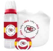 Caseys Distributing 1279901425 Kansas City Chiefs Baby Gift Set