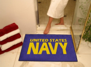 FANMATS 6980 34 x 44.5 Navy All-Star Rug