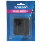 Schlage Aged Bronze Artisan Sliding Door Lock SC991B-716