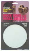 Prime Line Products 5in. White Door Knob & Wall Shield U9244